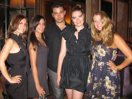 The Mafia & Fashion Indie: Sonja, Elisha, Daniel, Rebecca & Marcy