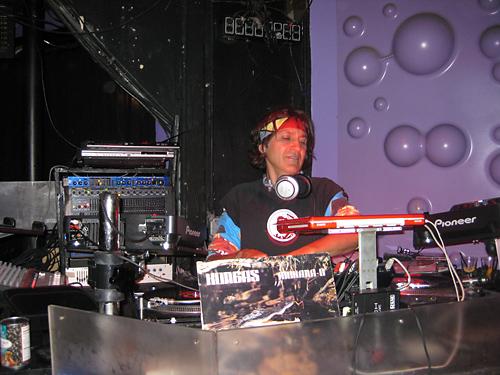 Studio 54 DJ\'s Freddy Bastone and Walter V got the groove on