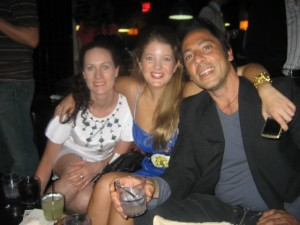 With my dear friend Jane and jewelry designer extraordinaire Perry Gargano