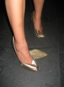 You know you worked hard when your new (vintage) shoes fall apart at the end of the night!