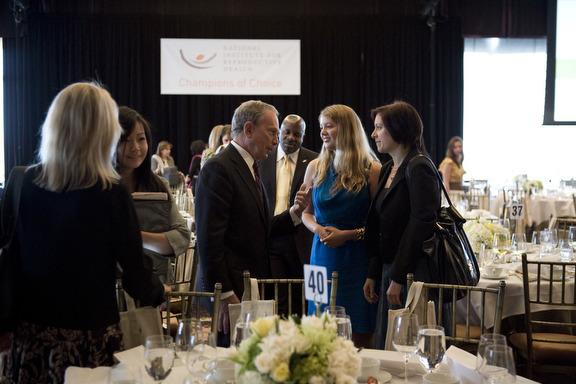 Mayor Bloomberg, Marcy Clark, Jodi Leib