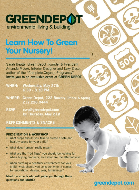 Learn How to Green Your Nursery