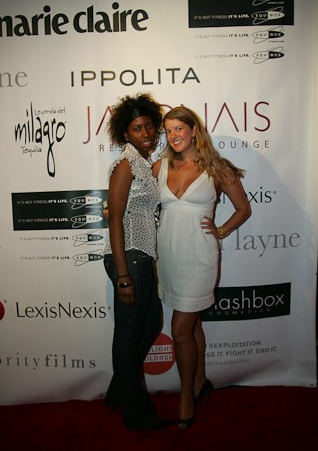 Saira Toppin and Marcy Clark