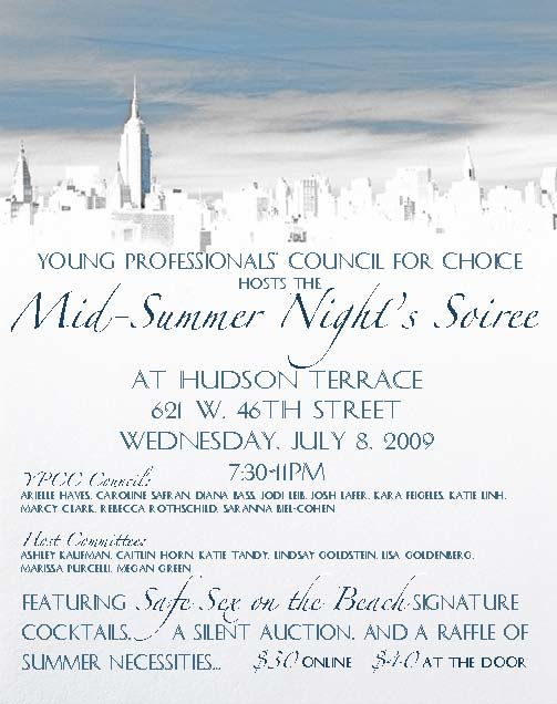 YPCC Midsummer Night's Soiree