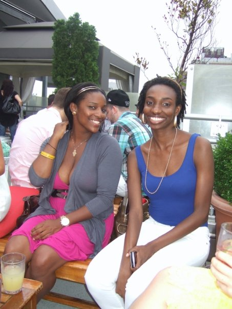 Our new friends Ayana and Rahel