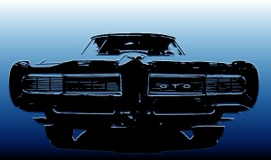 GTO grill-electric blue