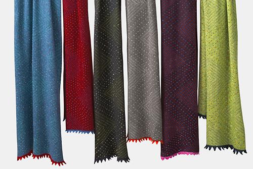 Cashmere Studded Scarves