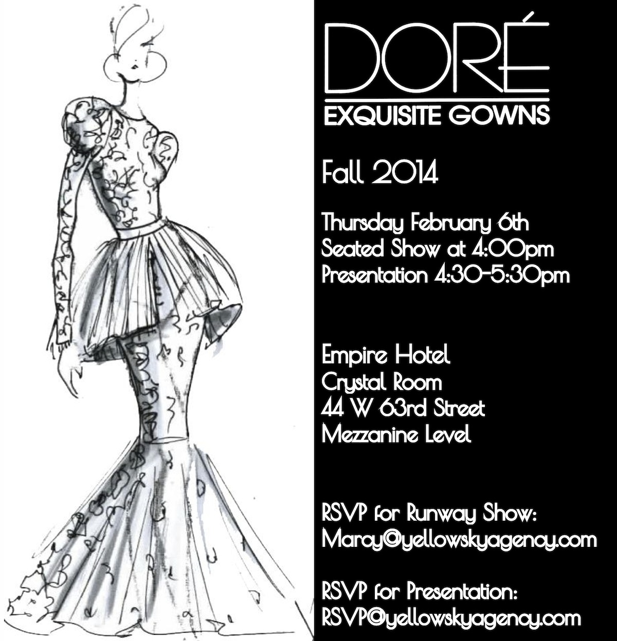 5 Lucky Women S Mafia Members Can Win Tickets To The Dore Designs Nyfw Event Women S Mafia Social Club And Online Magazine Featuring Fashion Events Beauty And Brilliant People